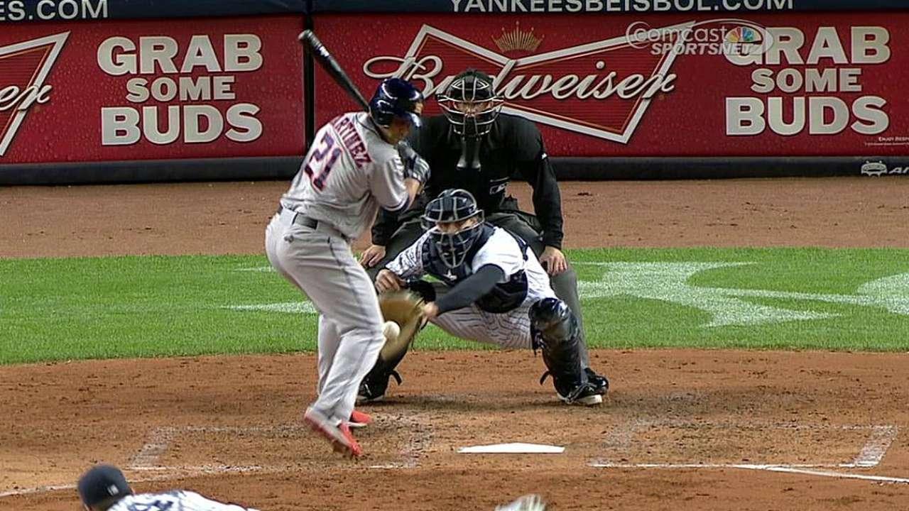 Astros lucharon pero no evitaron derrota vs. Yankees