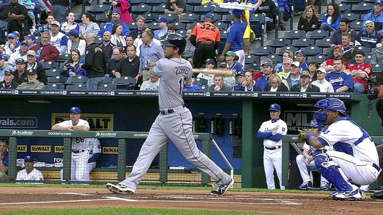 Despite trio of homers, Rays can't stop KC's late rally