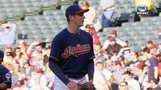 Indians keep scoring to give Bauer first Tribe win
