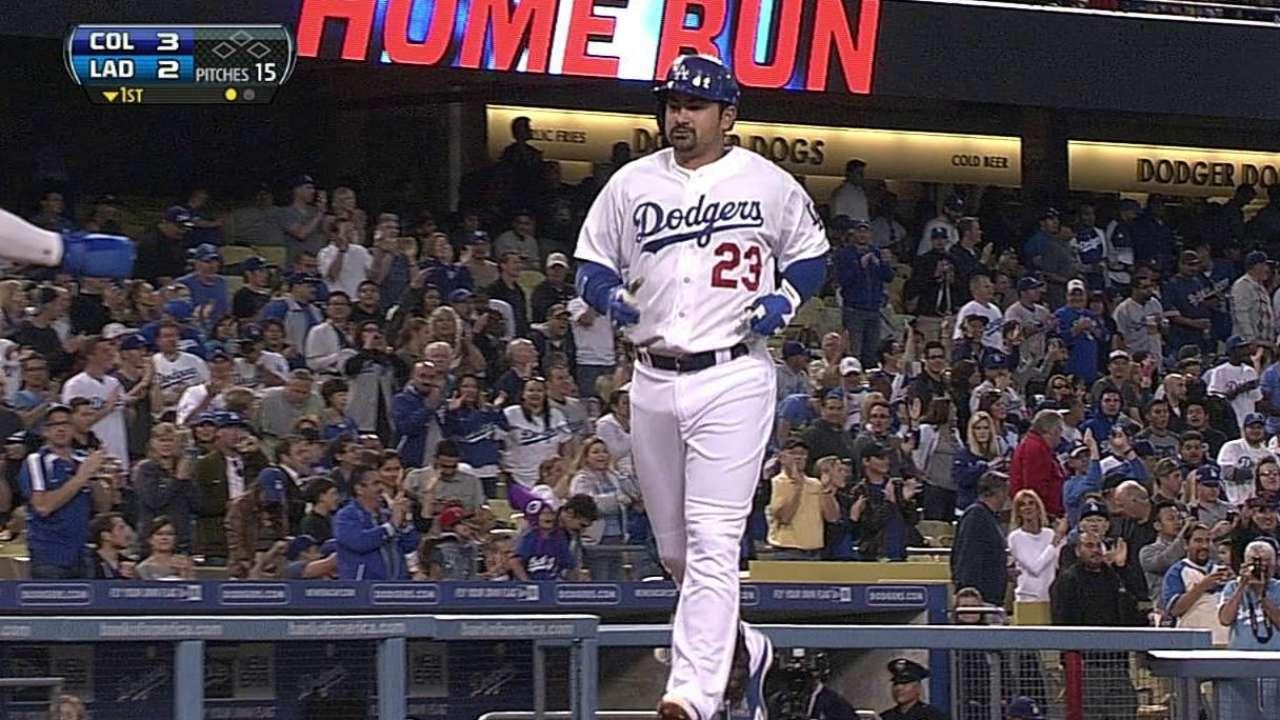Beckett falla y los Dodgers caen contra Rockies
