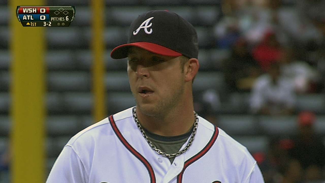 Braves' perfect run vs. Nationals comes to an end