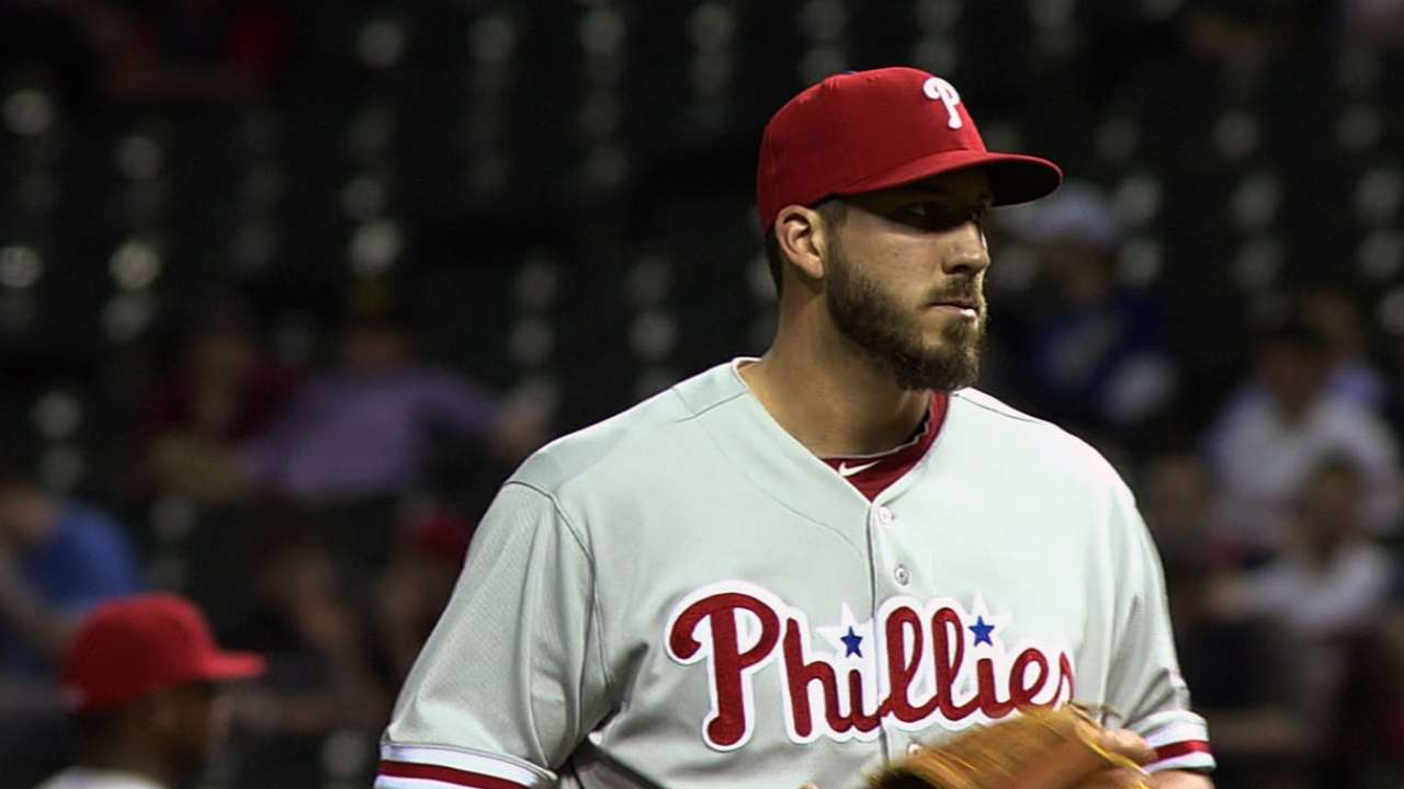 Aumont optioned to Triple-A; Stutes recalled