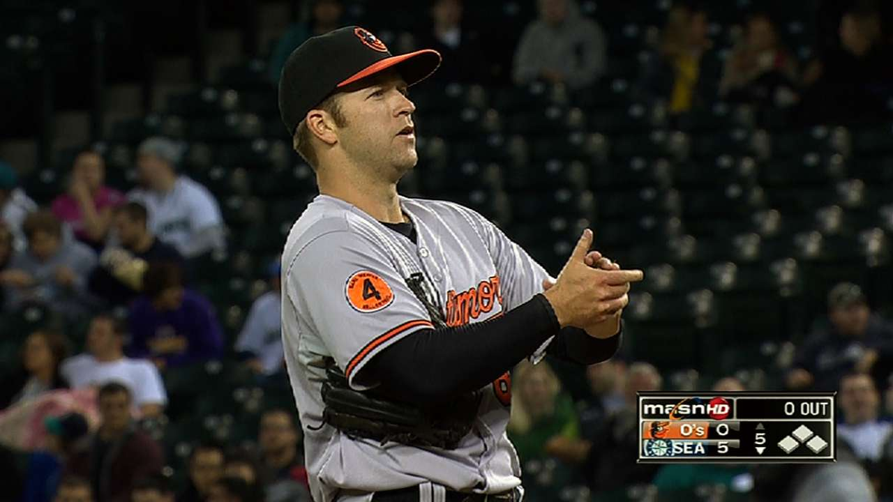 Clark thrilled to finally get call to Major Leagues