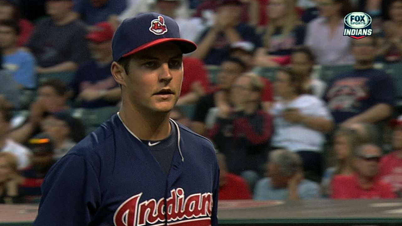 Tribe to get another look at Bauer on Monday