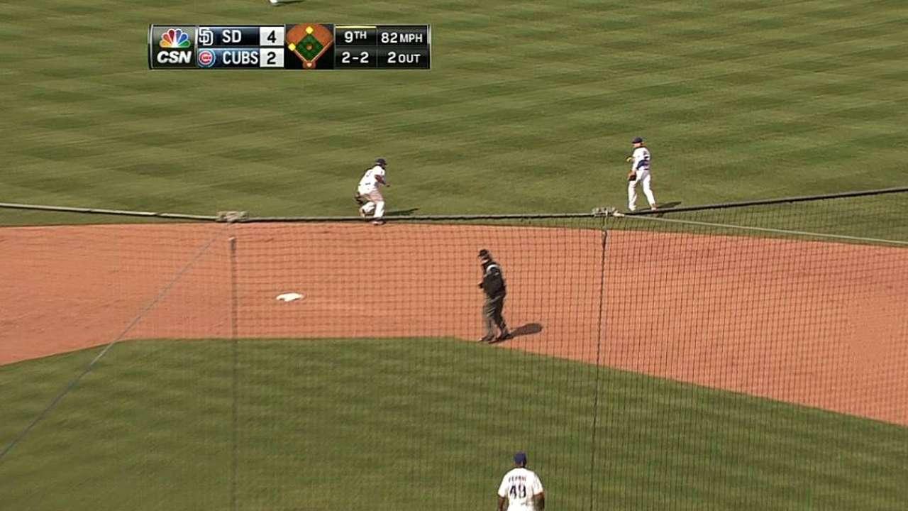 Pitcheo de Cubs se desmoronó en la 8va vs. Padres