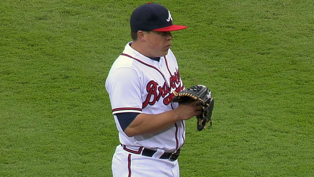 Braves' offensive woes continue in finale with Nats