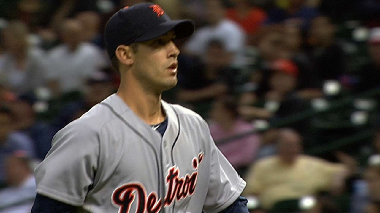 MLB Notebook: Tigers pitchers racking up the K's