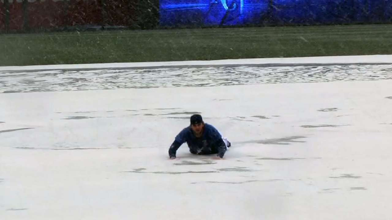Royals, Rays postponed due to rain, snow