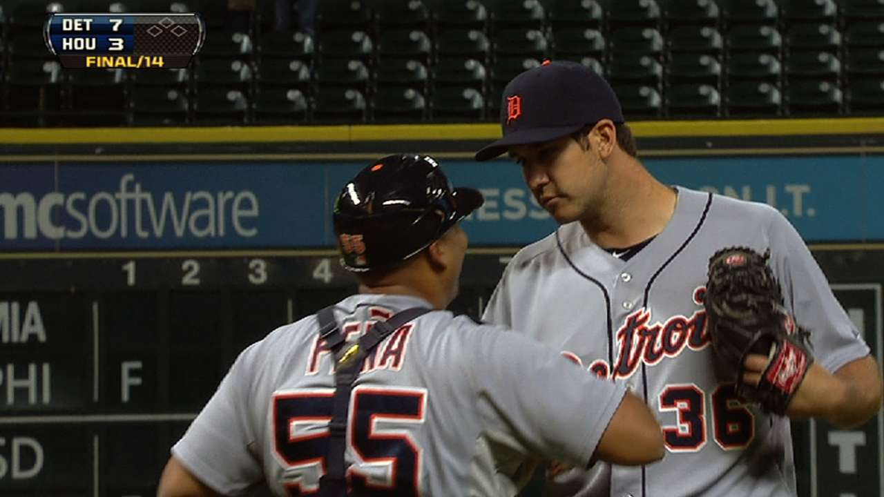 Tigers gaining confidence in reliever Putkonen