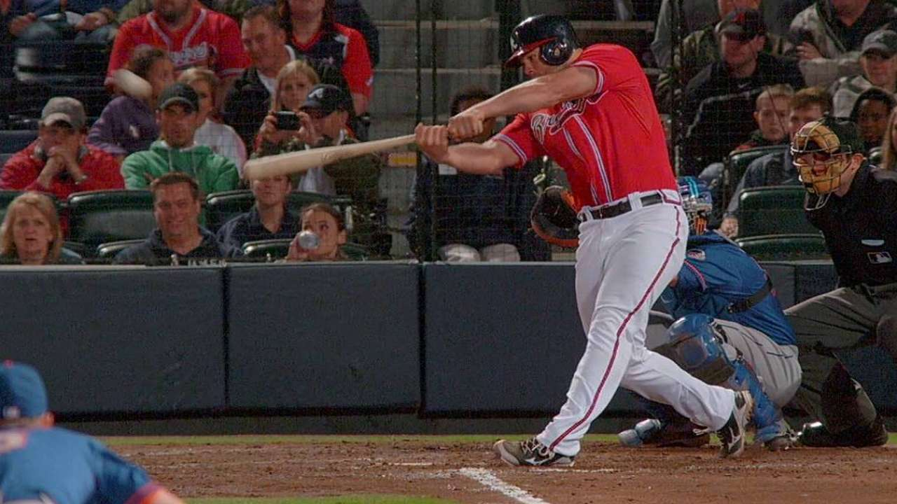 Braves unable to put away Mets, fall in 10 innings