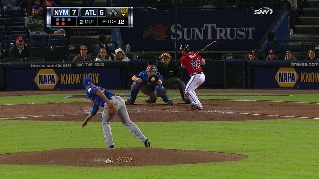 Familia flashes potential while notching first save