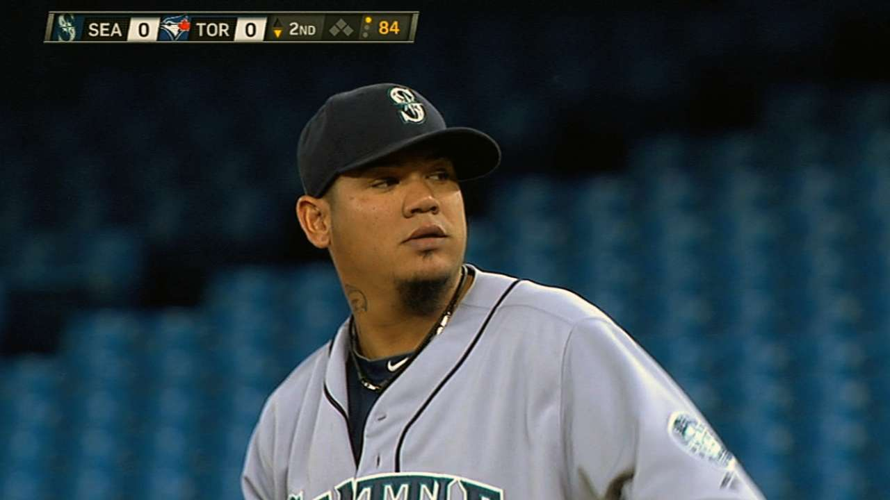 Mariners option Montero to Triple-A Tacoma