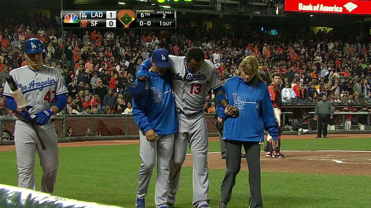 Hanley goes on DL with hamstring strain