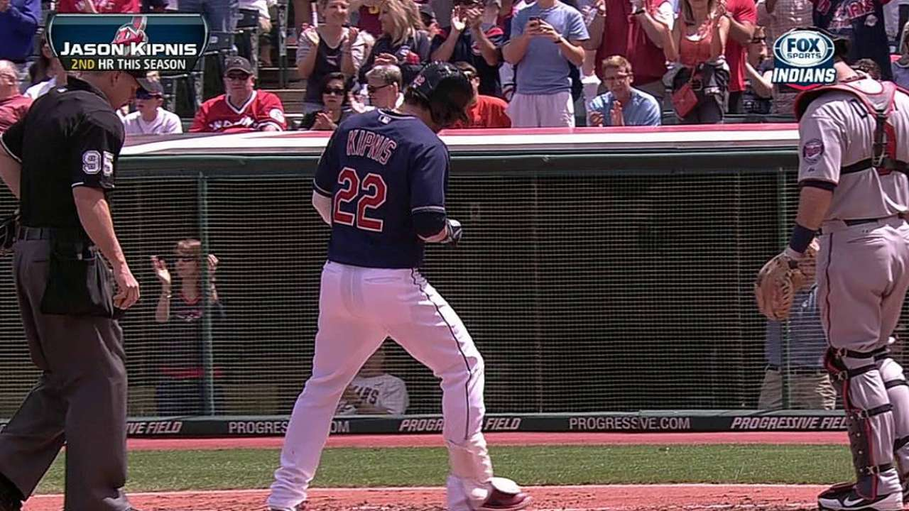 Kipnis helped by manager's vote of confidence