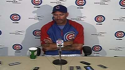 Cubs' plan with Marmol is to keep him on the hill