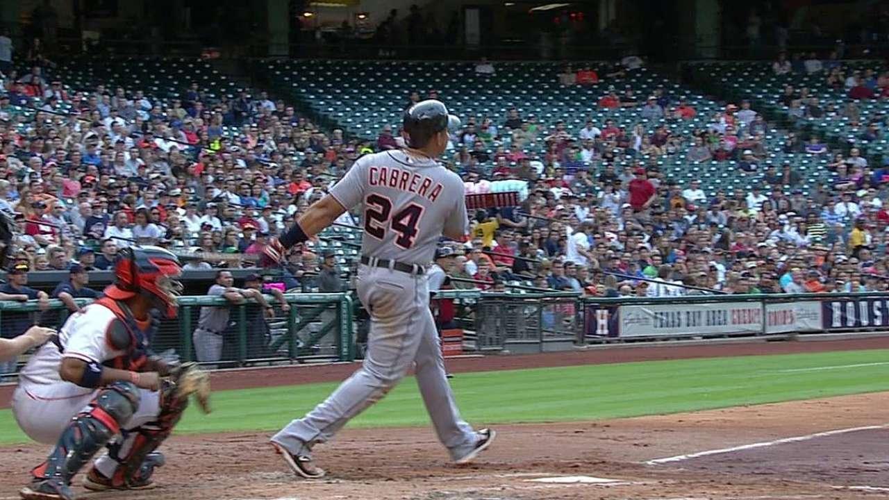 Miguel produjo seis carreras y Detroit aplastó a Astros