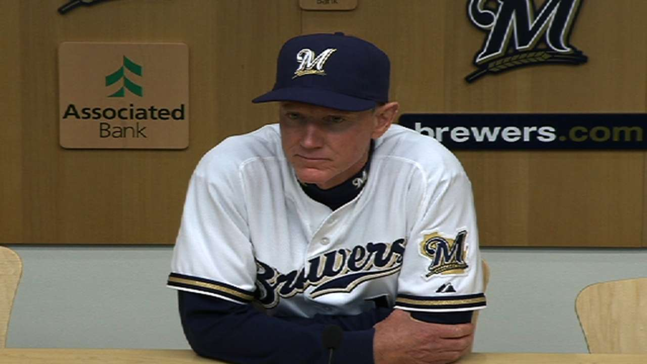 Brewers wonder what's wrong with Gallardo