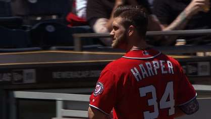 Harper gets ejected