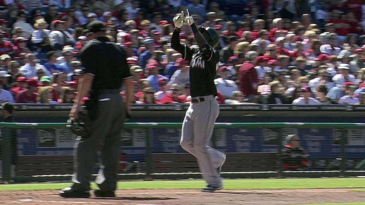 Philly umps use replay twice on close homer calls