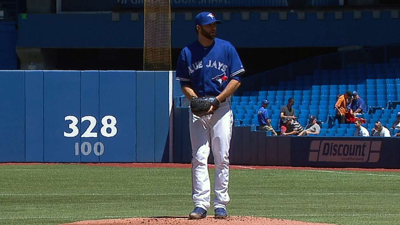 Blue Jays move Morrow's start to Saturday