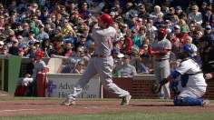 Reds complete road sweep thanks to Votto, Frazier