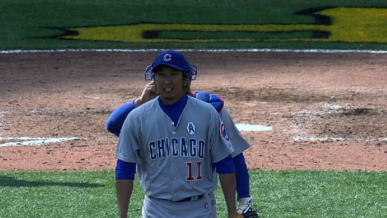 Fujikawa watches friend Darvish's near perfect game