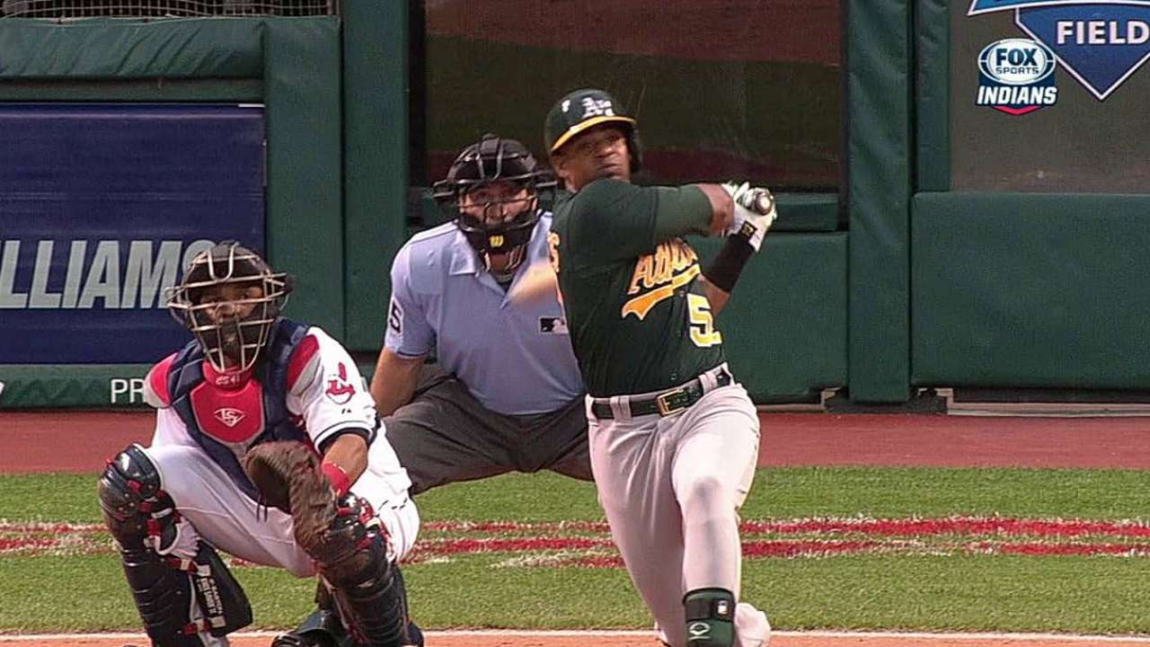 Cespedes hits third, Freiman starts vs. lefty