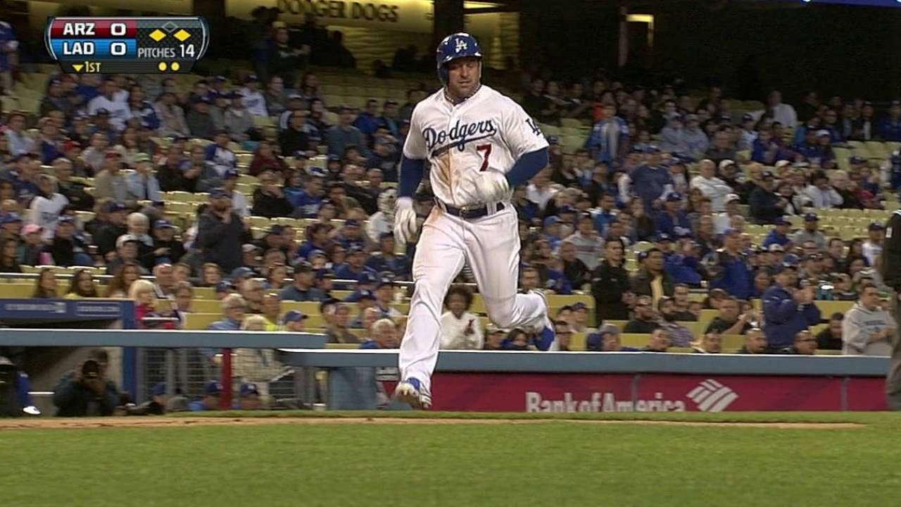 Capuano no pudo contener a D-backs y Dodgers cayeron