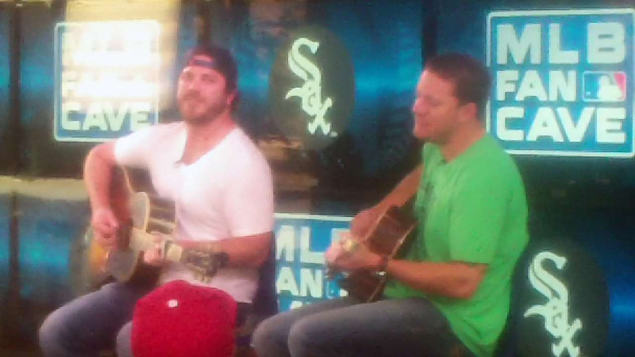 'Thankful' Peavy displays talents in the Fan Cave