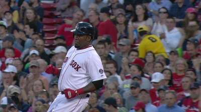 Big Papi extends hitting streak to 27 games