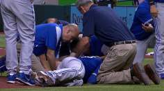 Happ's injury overshadows win over Rays