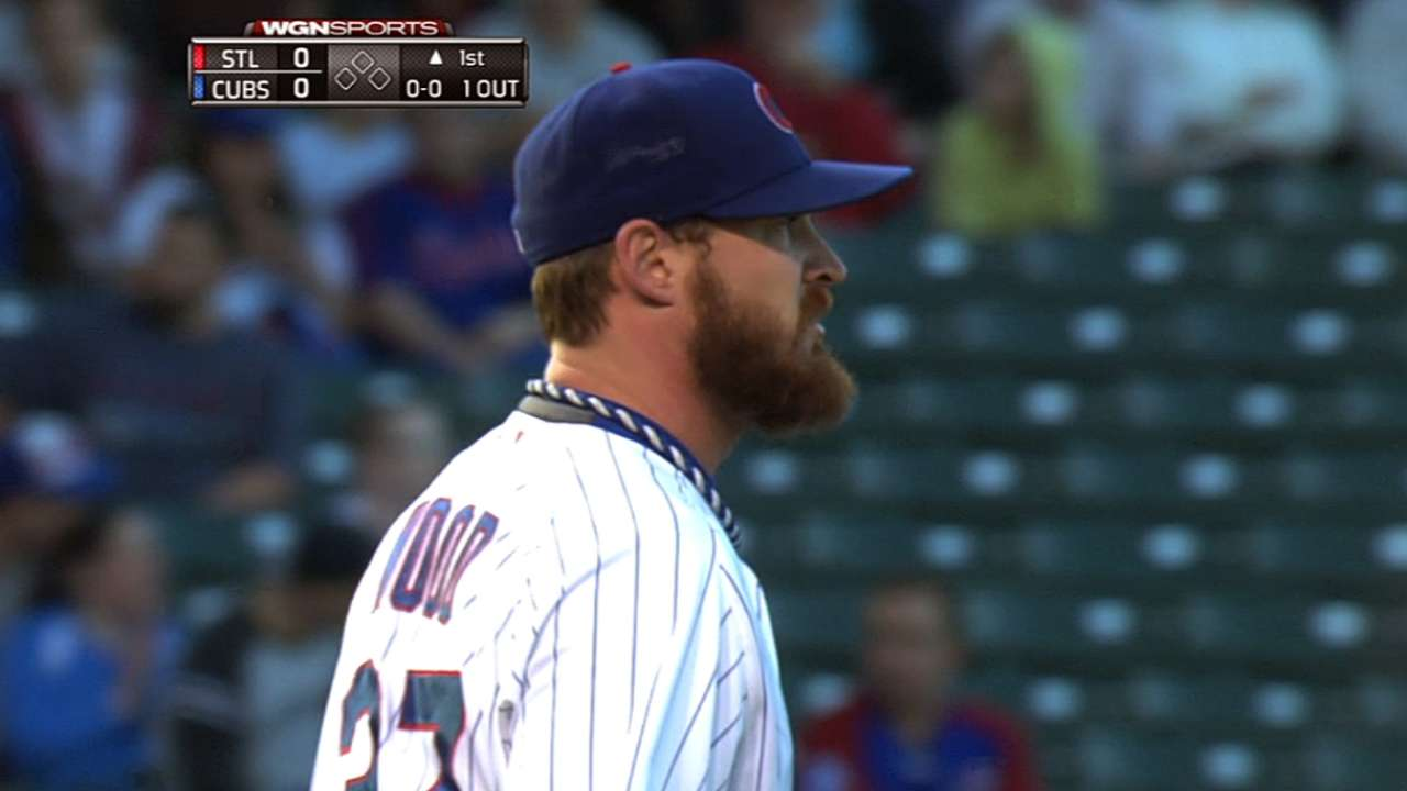 Quality assurance: Wood pitches Cubs past Cards