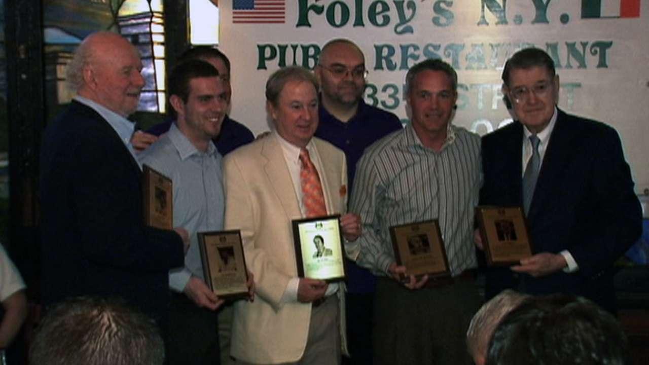 McEwing enters Irish-American Baseball HOF