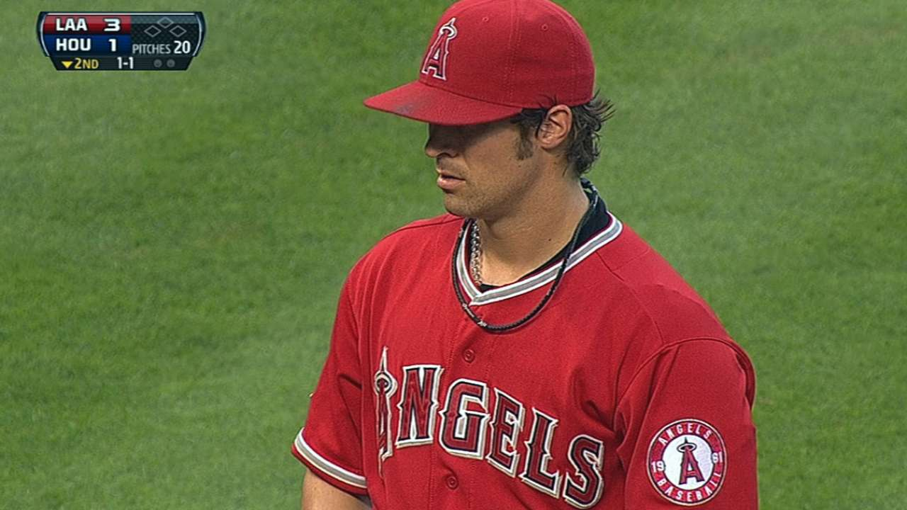 Wilson's lapse costs Angels in Houston