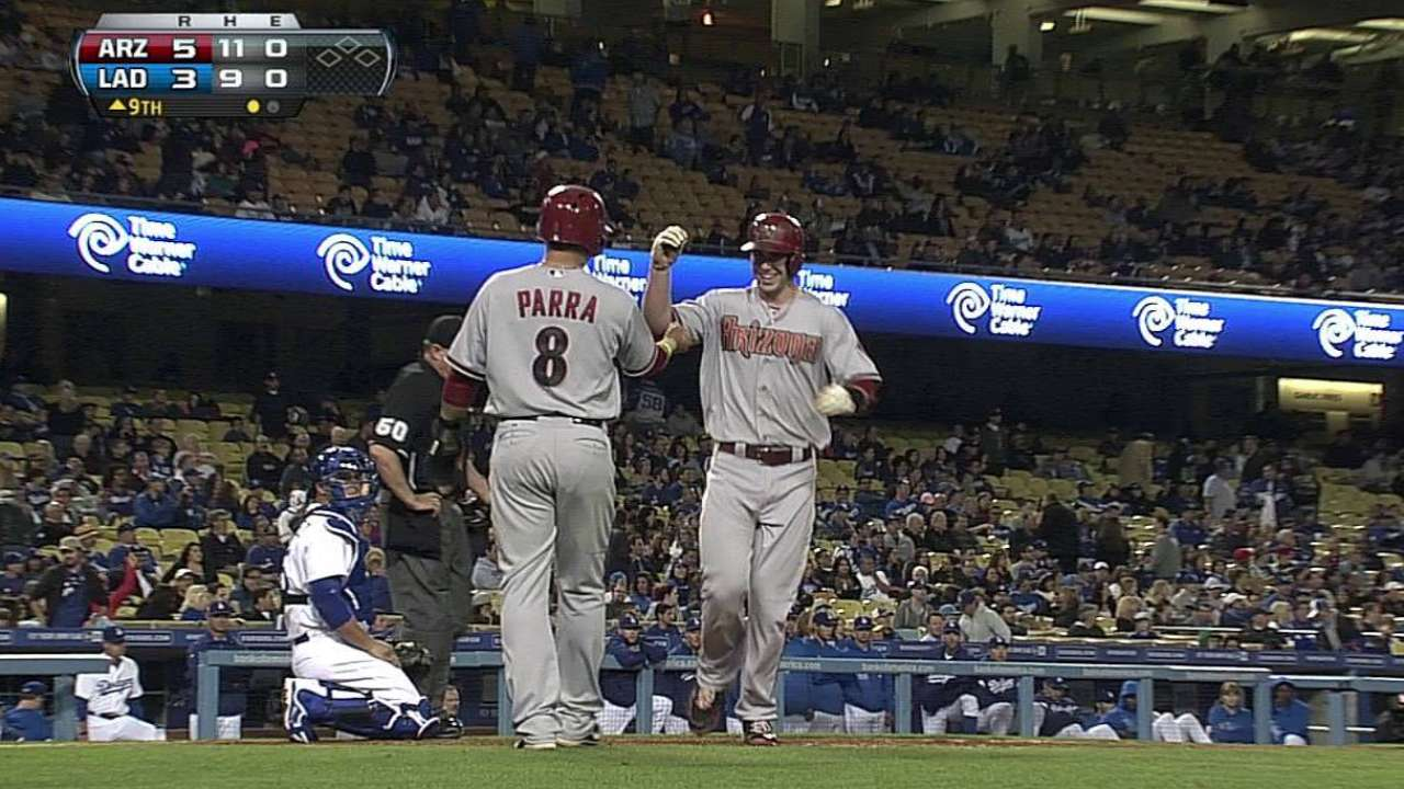 Gold standard: Slugger's homer lifts D-backs