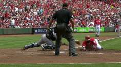 Uggla's homers, late slam erase Minor damage