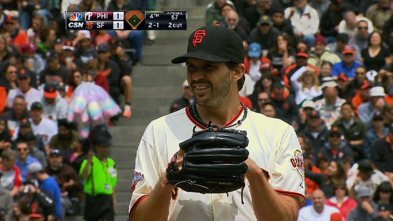 Giants' rotation showing encouraging signs
