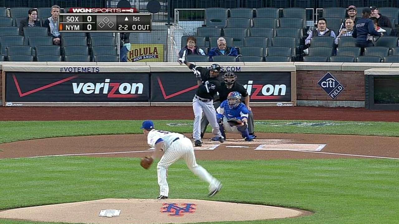 De Aza, Peavy guiaron a Medias Blancas sobre Mets