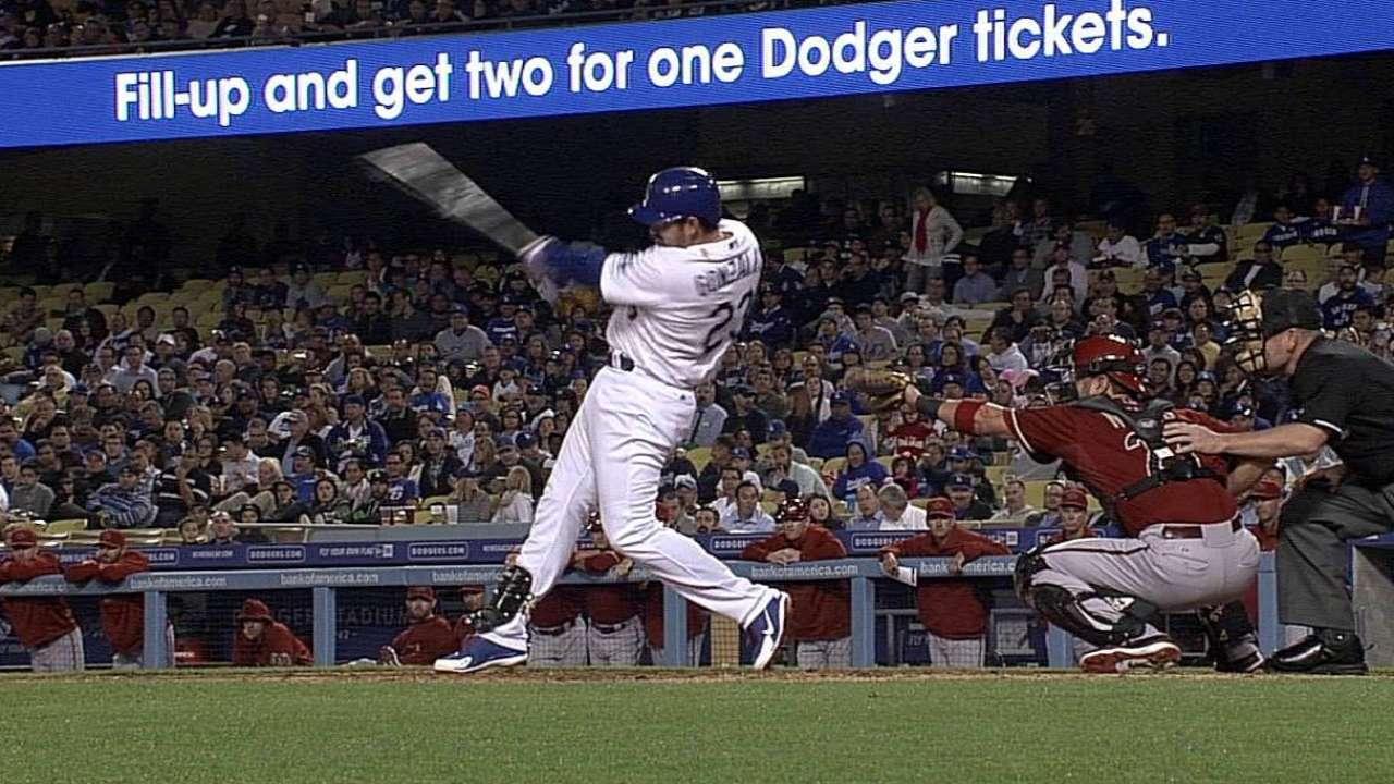 Dodgers volvieron a ser víctimas de los D-backs