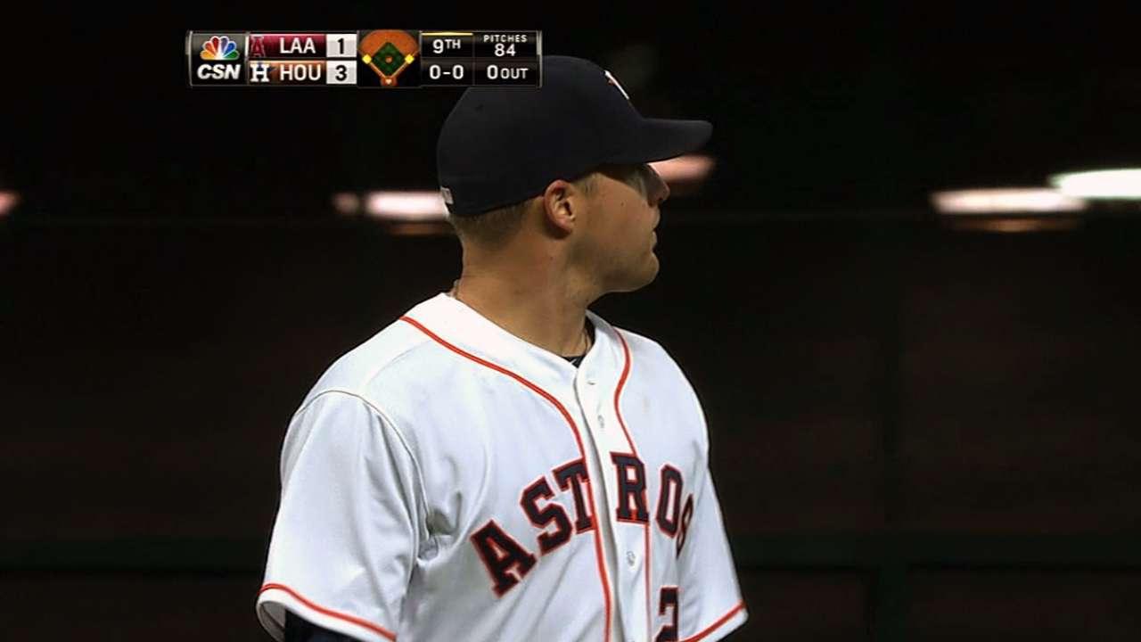 Norris' gem gives Astros shot to sweep Angels