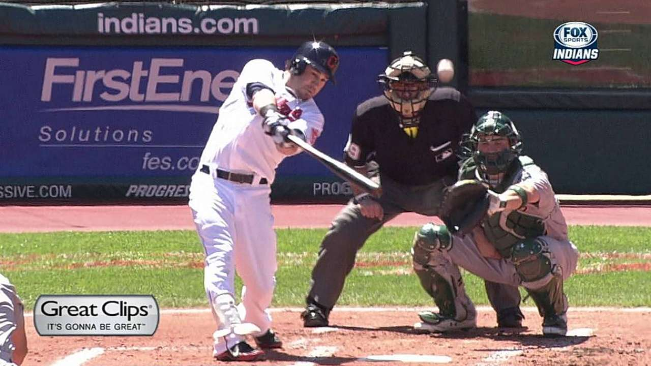 Kipnis improving at the plate with focus on mechanics