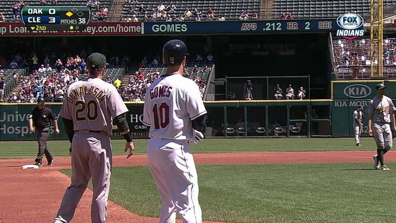 Gomes taking advantage of chances