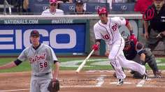 Nats' fast start backs Haren in win over Tigers