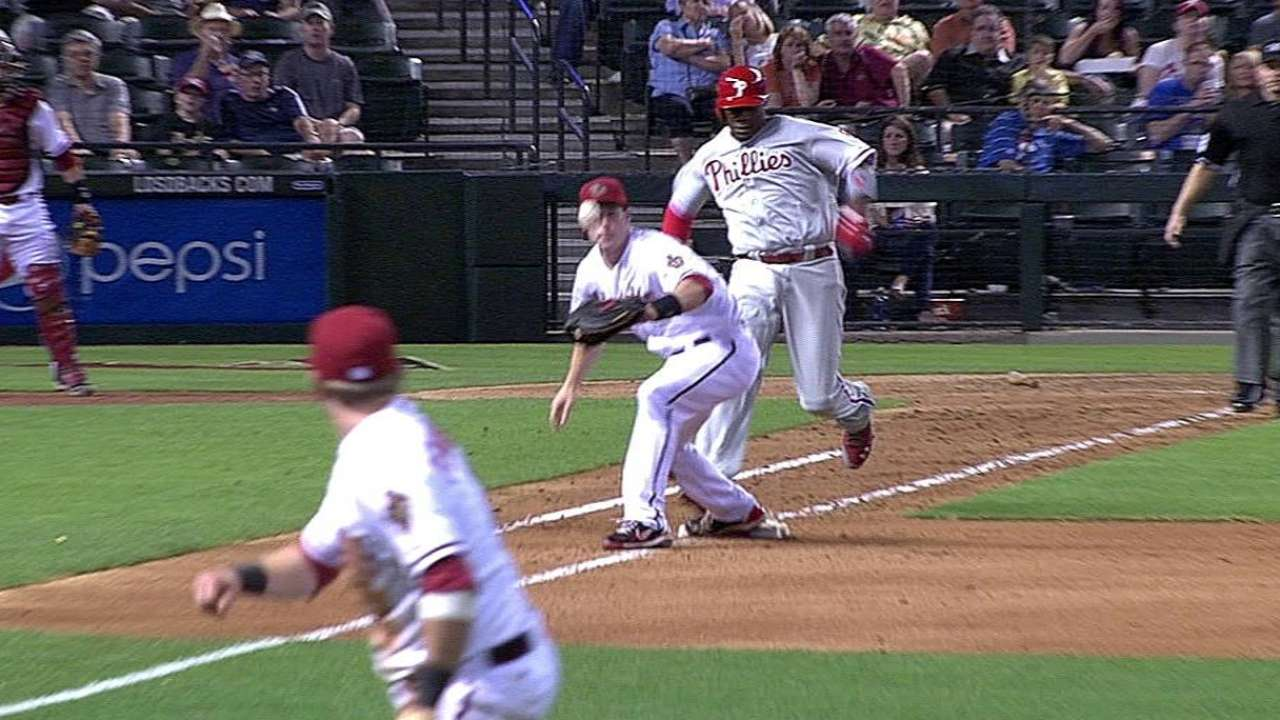 D-backs' extreme shift frustrating for Howard