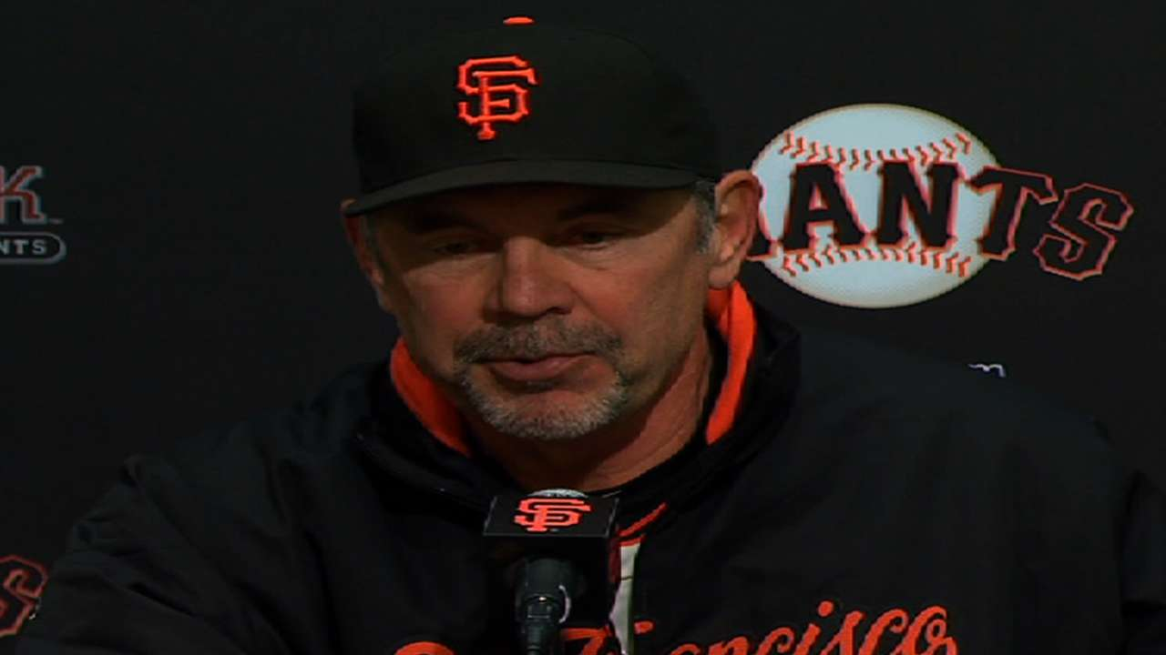 Bochy backs Vogelsong amid recent struggles