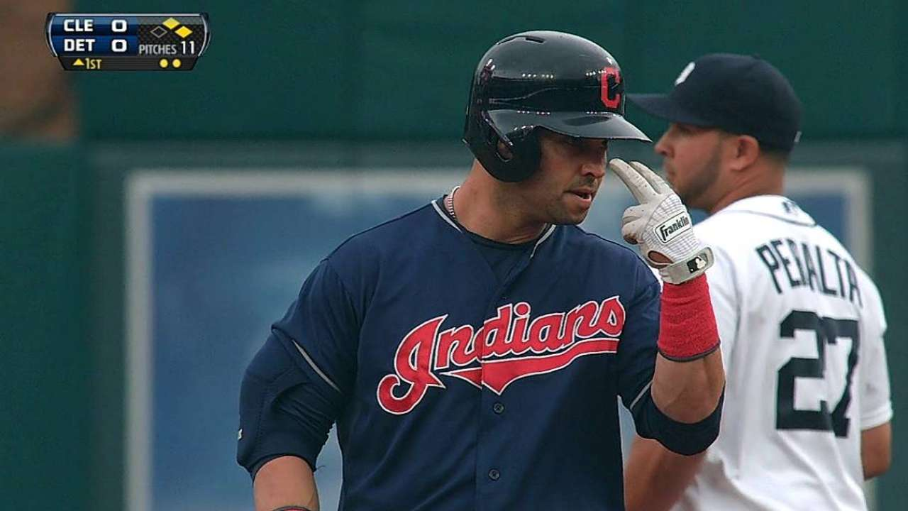 Tribe outslugged by Tigers in Kluber's rough night