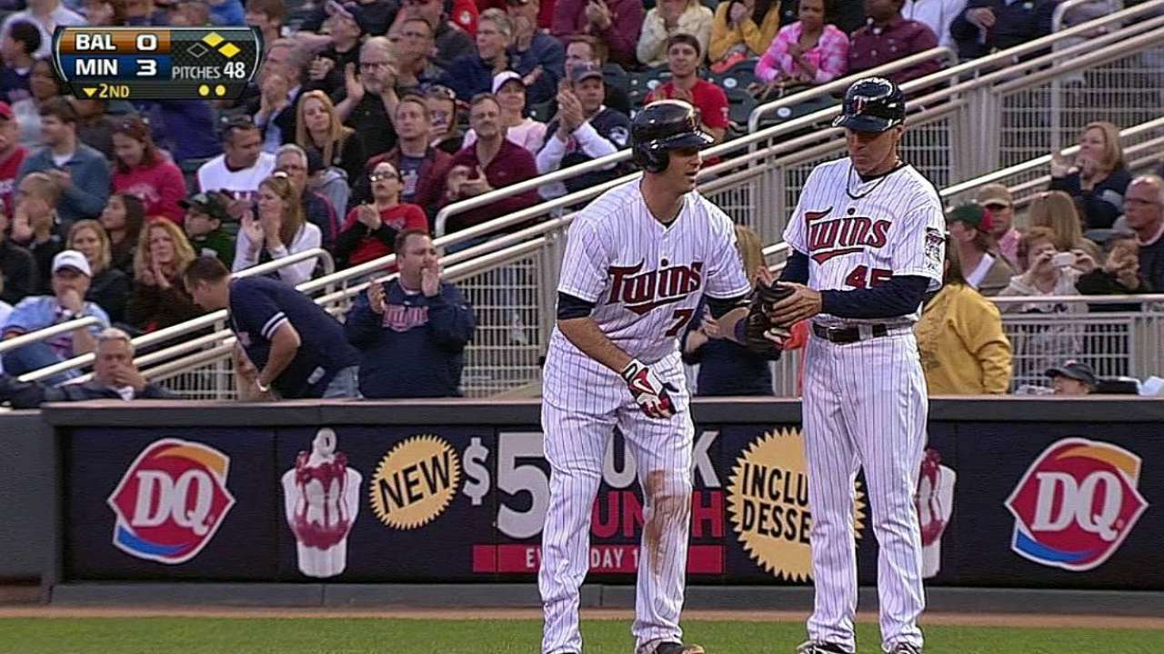Twins drive up score early, but bullpen can't hold on