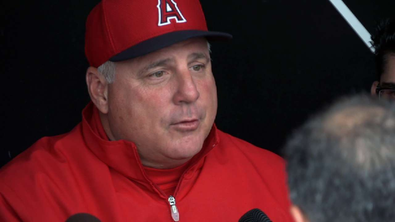 Scioscia moving on from 'isolated incident'