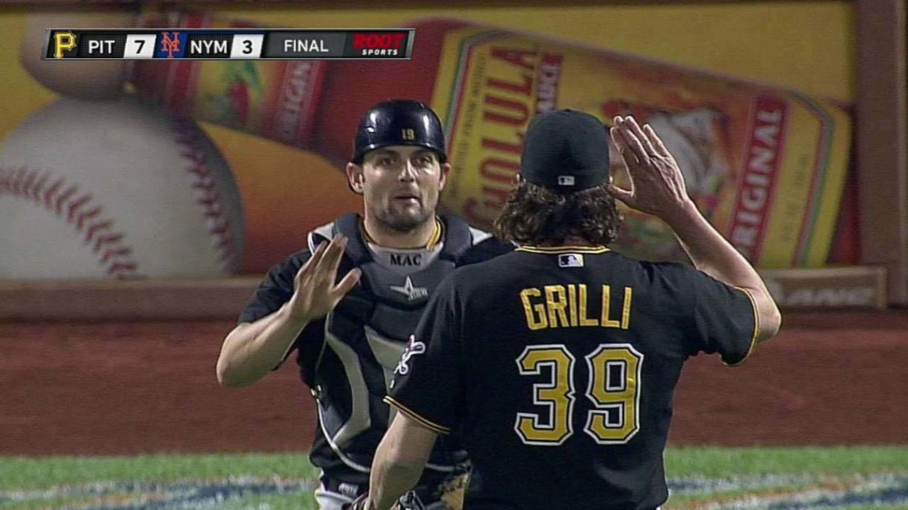 Dad's number retirement proud moment for Grilli