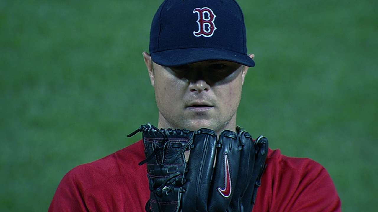Lester retires first 17, blanks Blue Jays on one hit